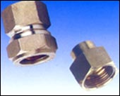 Copper fitting female coupling